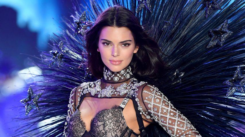 Kendall Jenner auf der Victoria's Secret Fashion Show in New York, 2018