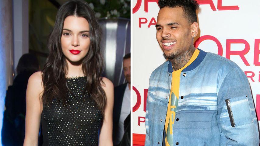 Lüsterne Gedanken: Das geht bei Kendall Jenner & Chris Brown