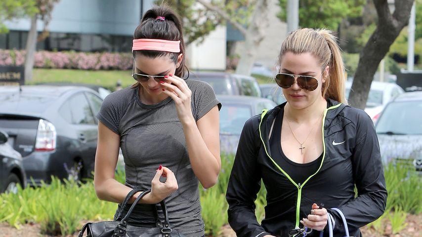 Khloe Kardashian und Kendall Jenner
