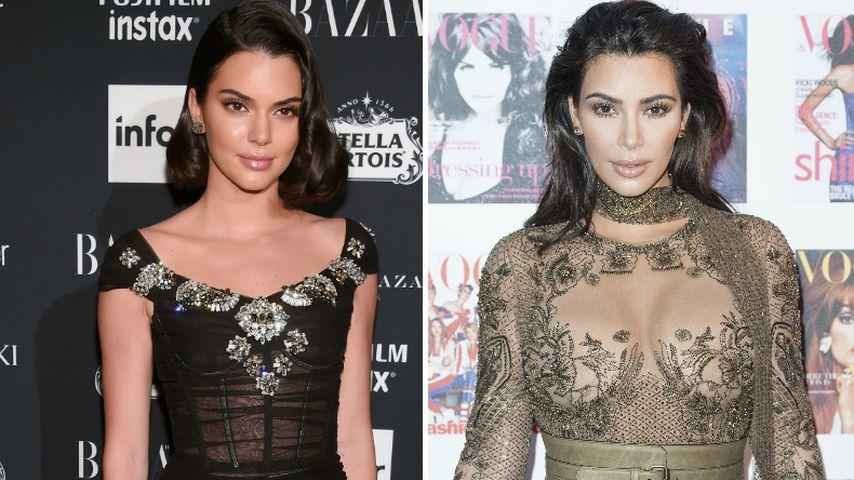 Kendall Jenner: Ist sie eifersüchtig auf Schwester Kim?