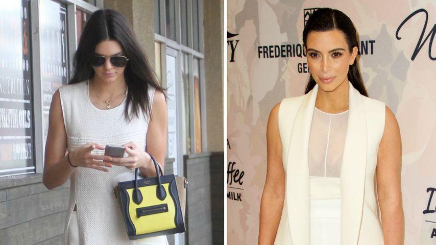 Kopiert Kendall Jenner den Kim-Kardashian-Style?
