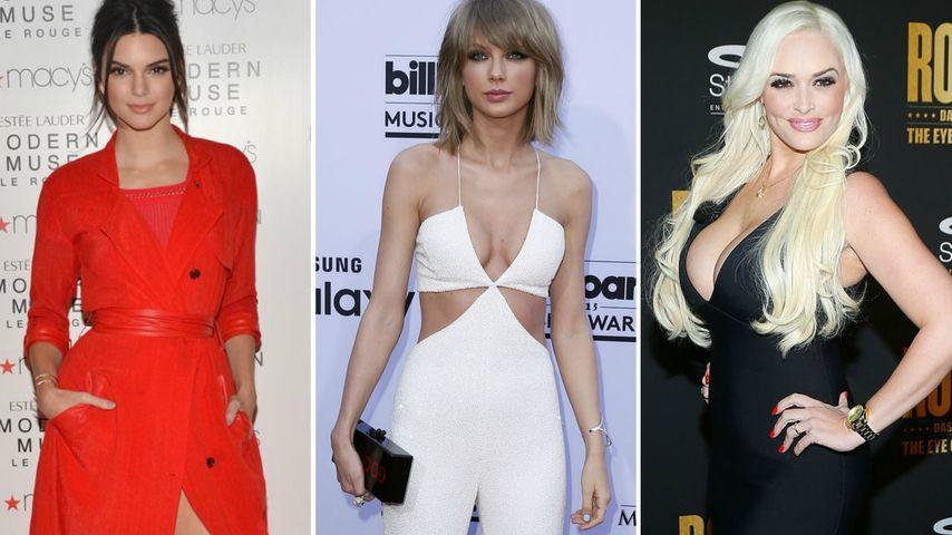 Daniela Katzenberger, Taylor Swift und Kendall Jenner
