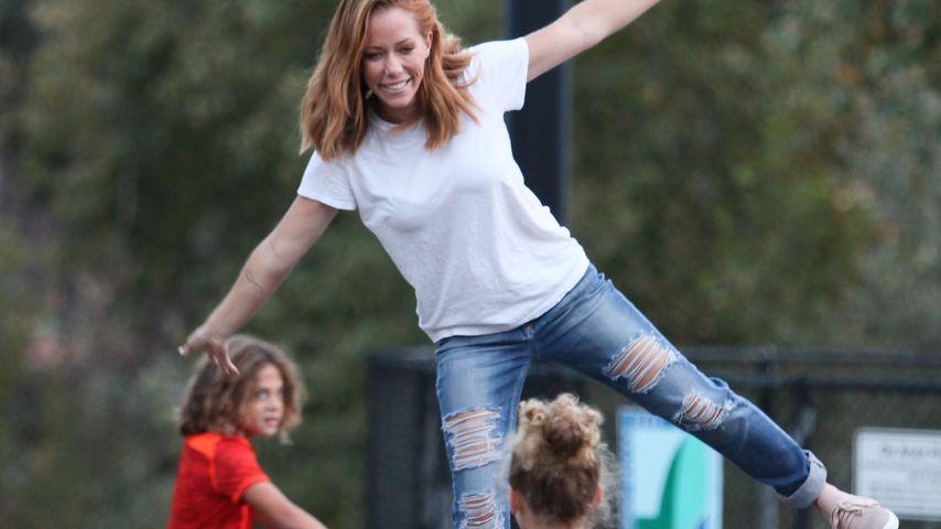 Nach Trennung: Kendra Wilkinson genießt Zeit mit ihren Kids!