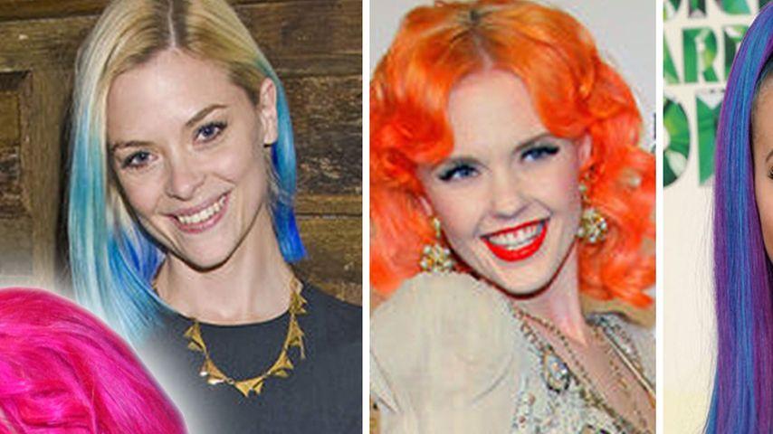 Katy-Perry-Style: So aufwendig sind bunte Haare