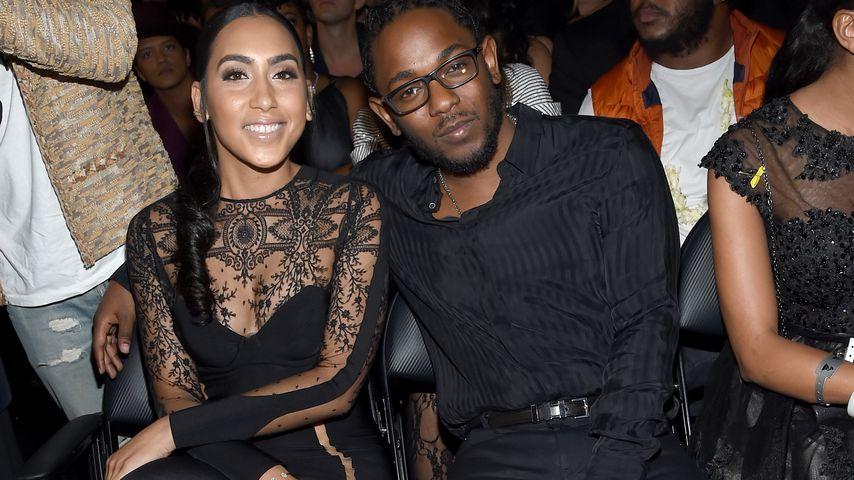 Kendrick Lamar und Whitney Alford