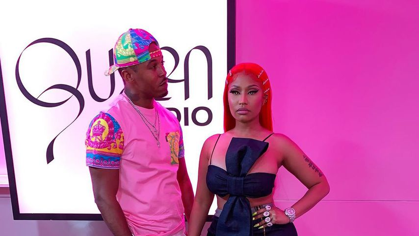 Kenneth Petty und Nicki Minaj