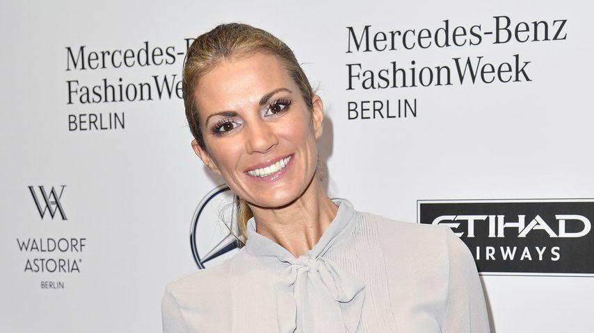 """Kerstin Linnartz bei der """"Mercedes-Benz Fashion Week"""" in Berlin 2017"""