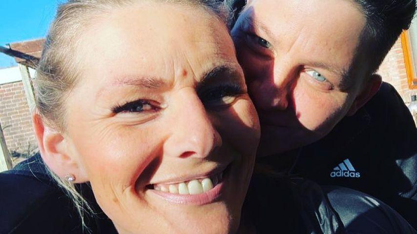 Kerstin Ott und ihre Frau Karolina Köppen im April 2021