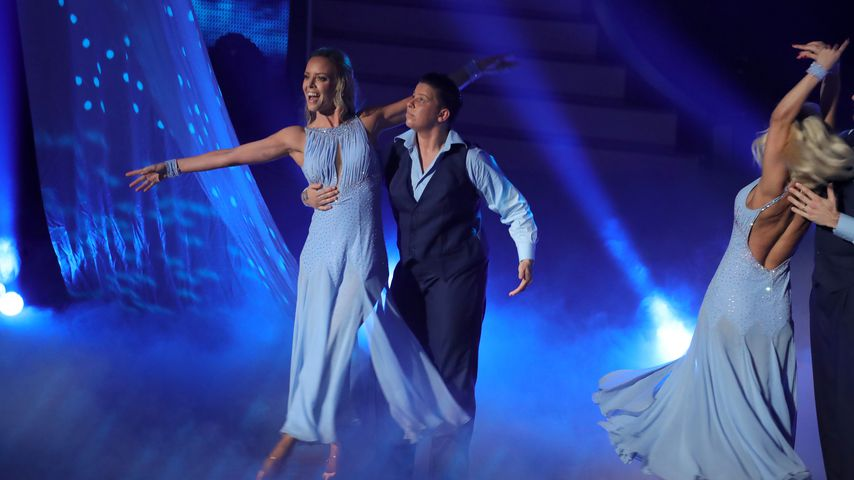 "Isabel Edvardsson und Kerstin Ott bei ""Let's Dance"""