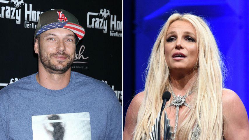 Kevin Federline und Britney Spears