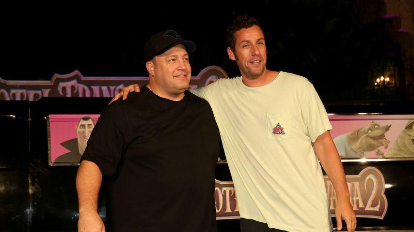Kevin James und Adam Sandler, 2015