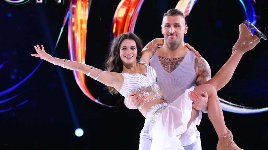 "Kevin Kuske und Myriam Leuenberger bei ""Dancing on Ice"", 2019"