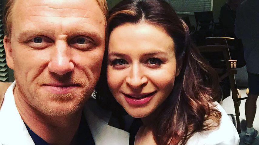 """Kevin McKidd und Caterina Scorsone am """"Grey's Anatomy""""-Set"""