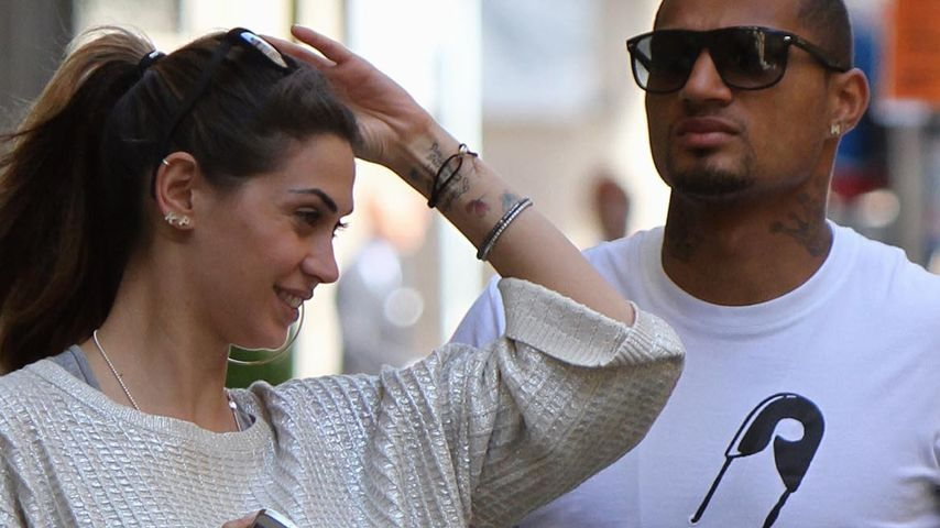 Kevin Prince Boateng und Melissa Satta