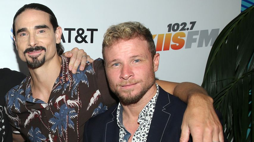 Kevin Richardson und Brian Littrell, Backstreet Boys-Stars