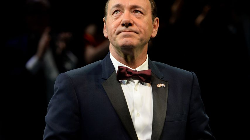 Kevin Spacey auf einer Gala in London im April 2015
