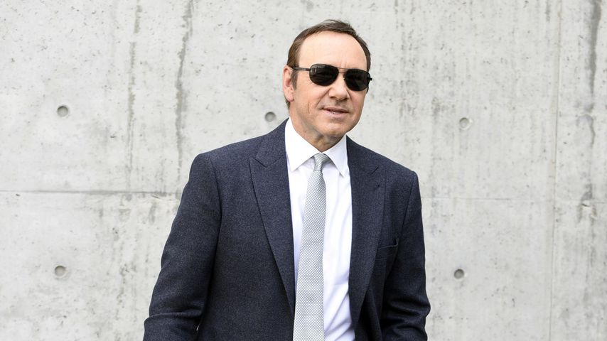 Kevin Spacey auf der Fashion Week in Italien 2016