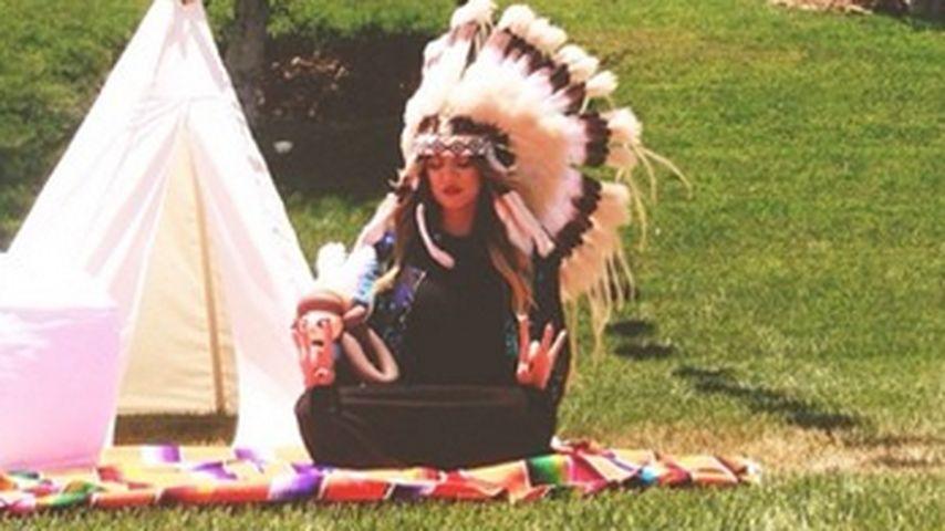 Khloe Kardashian: Ärger wegen Indianer-Kostüm