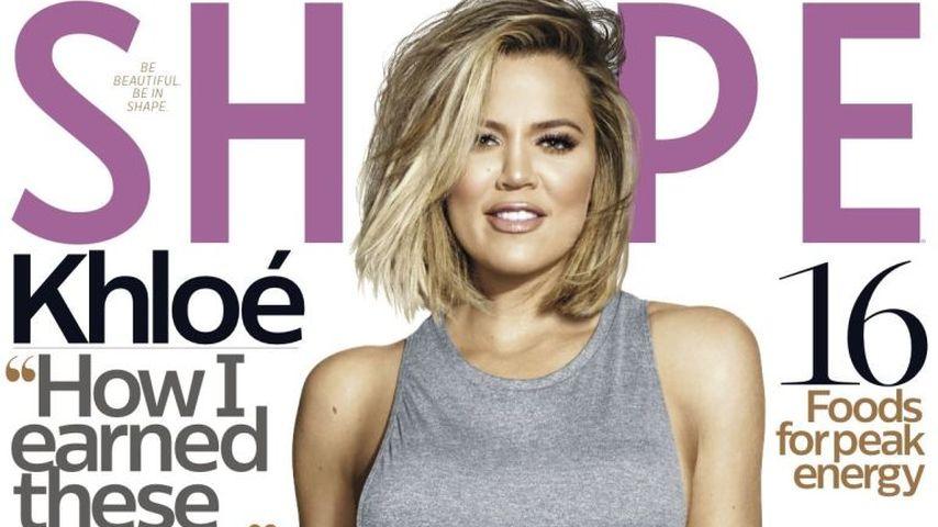 Enttäuschtes Cover-Girl: Khloe Kardashian hasst ihr Foto!