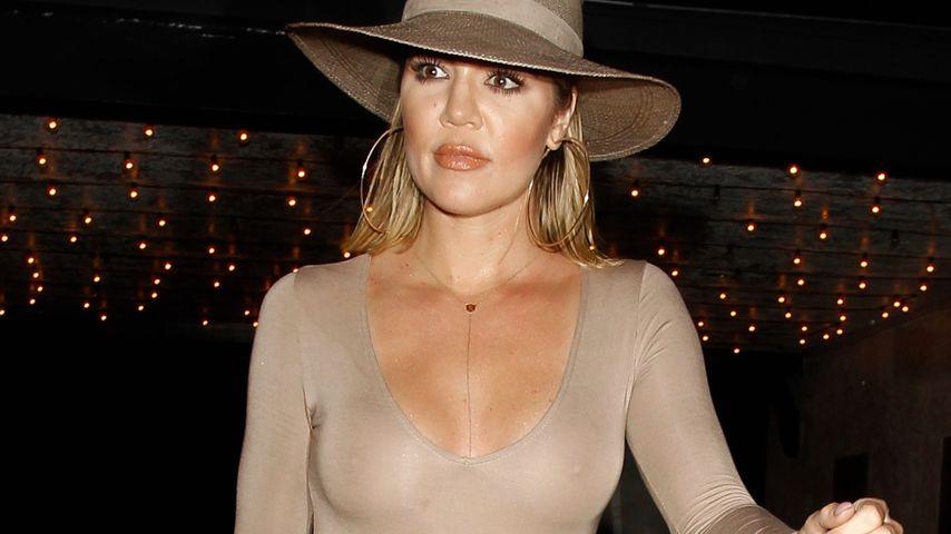 Khloe Kardashian nach einem Dinner im Casa Vega