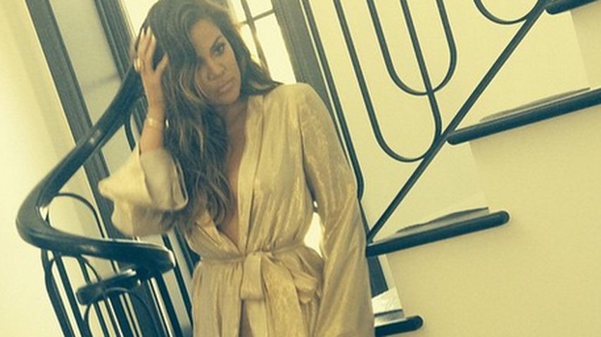Sexy hexy: Khloe Kardashian lässt besonders tief blicken