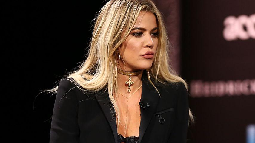 Khloe Kardashian bei einer Diskussionsrunde in Dana Point