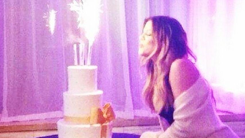 Partystimmung: Khloe Kardashian feiert ihren 30.