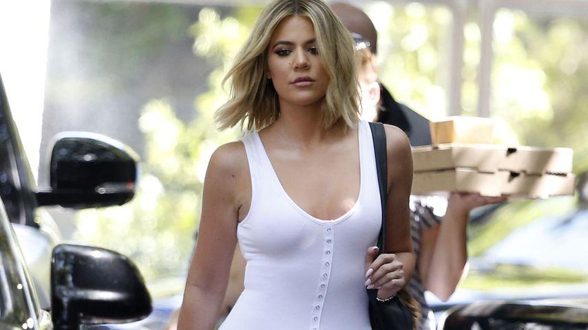 Neue Frise zu Traumbody: Khloe Kardashian verzaubert in Weiß