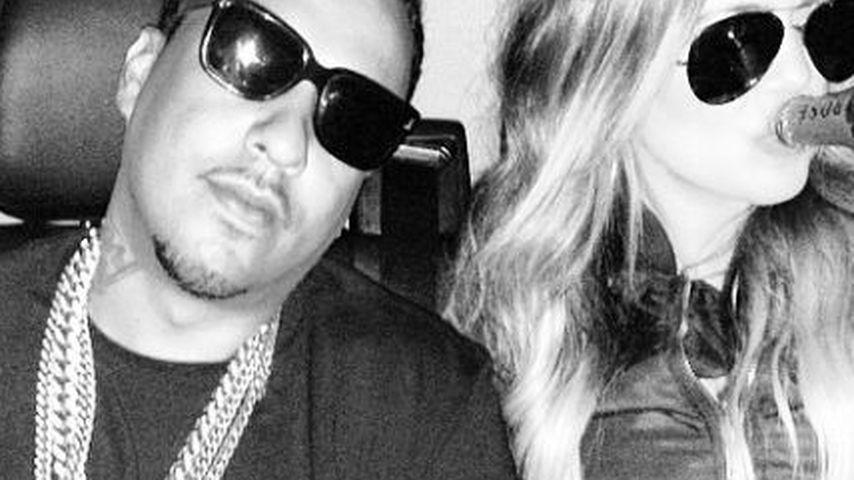 Khloe Kardashian und French Montana