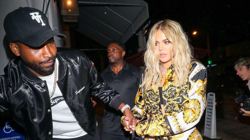 Khloe Kardashian und Tristan Thompson unterwegs in Los Angeles