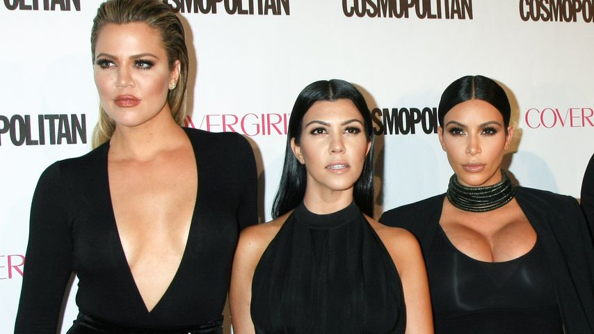 Reality-Stars Khloe, Kourtney und Kim Kardashian