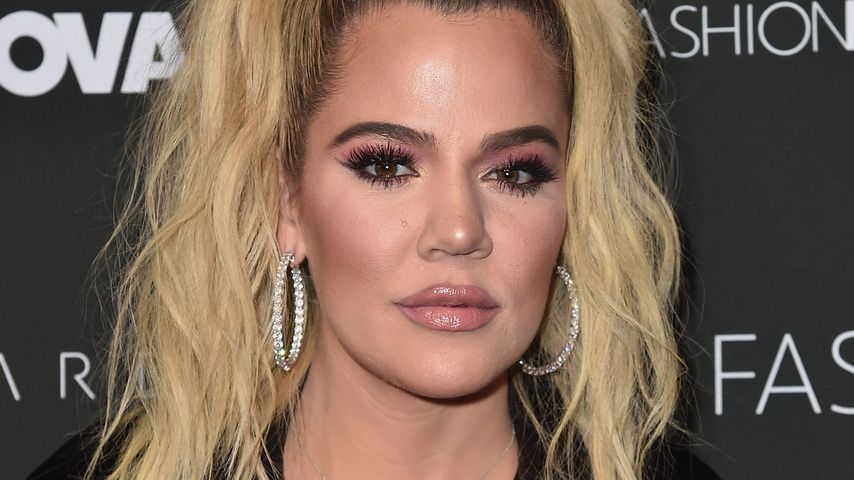 Khloe Kardashian bei einer Fashionshow in Hollywood