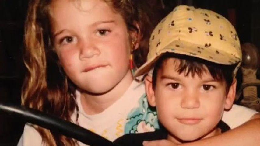 Khloe und Robert Kardashian als Kinder