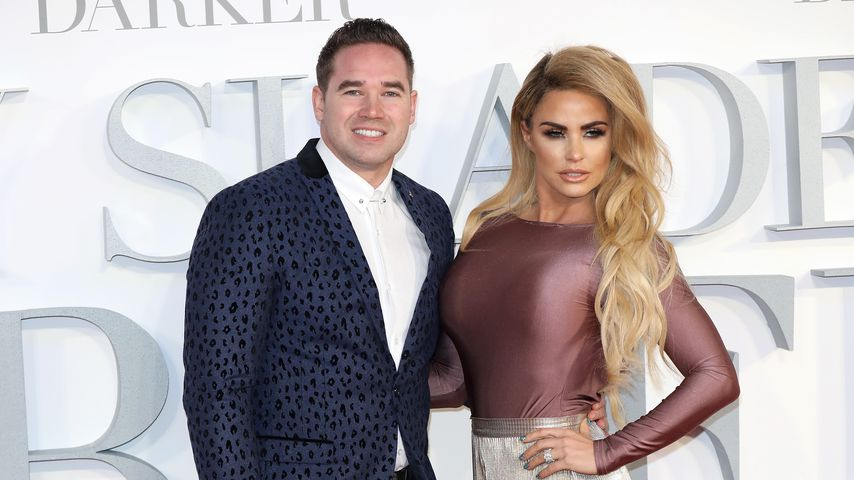 "Kieran Hayler und Katie Price bei der ""Fifty Shades Darker""-Premiere in London"
