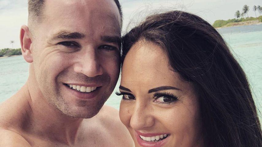 Kieran Hayler und Michelle Pentecost, Februar 2020