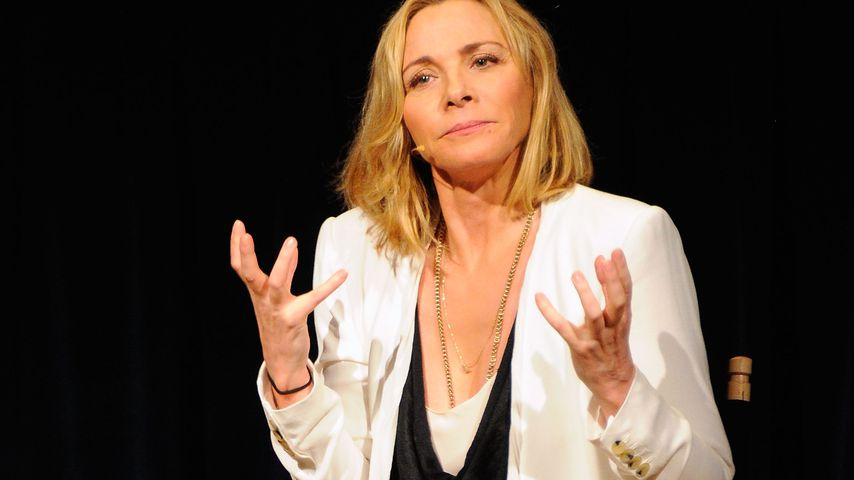 Kim Cattrall beim NYIT Auditorium in New York