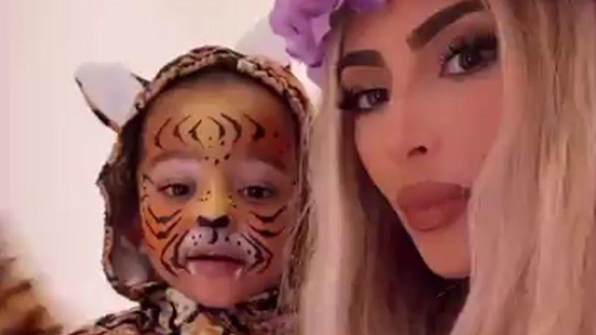 """Kim Kardashian geht an Halloween als """"Tiger King""""-Carole"""