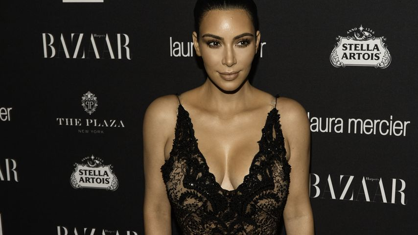 Kim Kardashian auf der New York Fashion Week