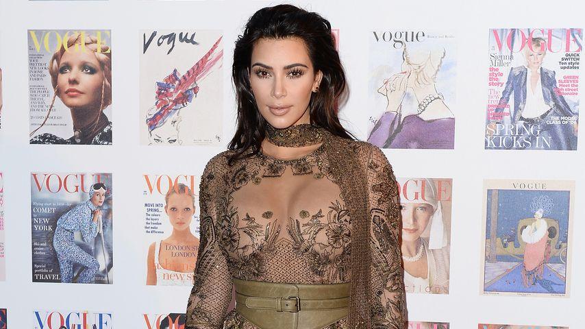 Styling-Fail? Kim Kardashian vergisst Höschen und BH