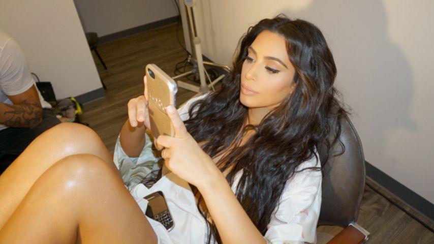 Nach Überfall: Kim Kardashian feiert Social-Media-Comeback