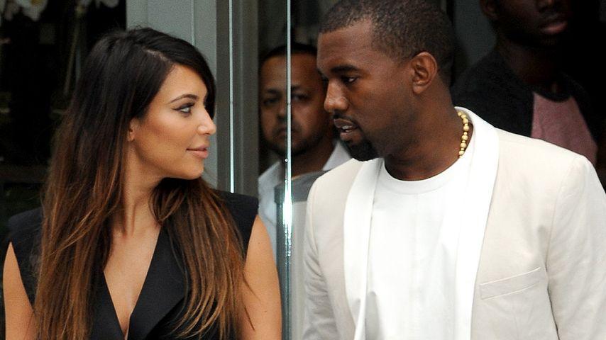 """Ziehen Kim & Kanye in den """"Beckingham Palace""""?"""