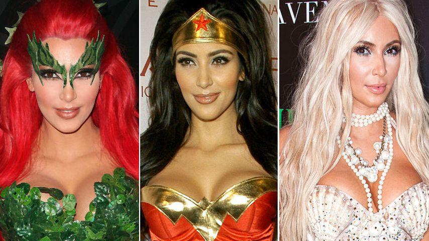 Süßes oder Heißes? Kim Kardashians sexy Halloween-Kostüme