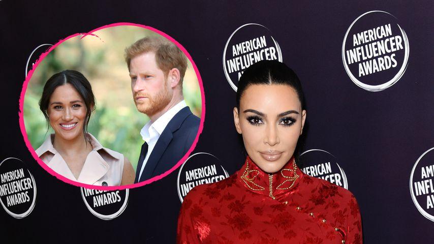 Presseklage: Kim Kardashian fühlt mit Harry und Meghan mit!