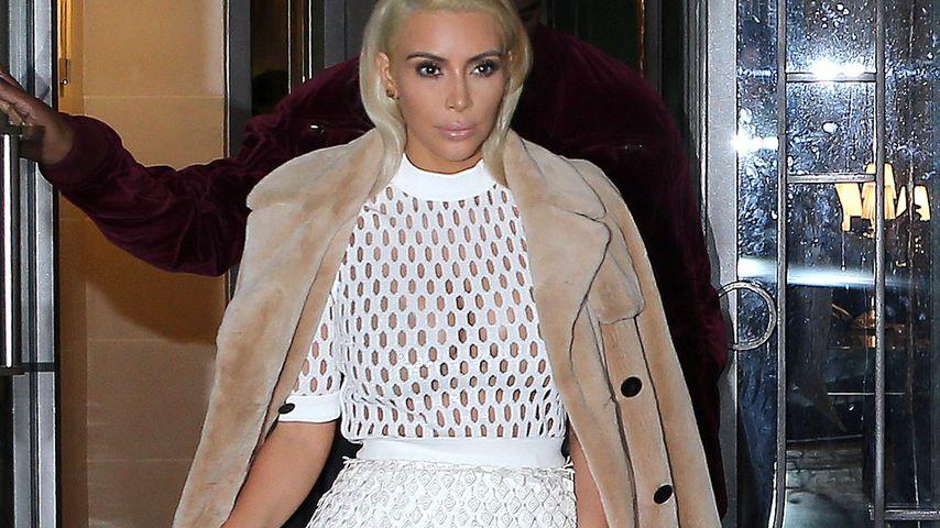 BH-los! Wo sind bloß Kim Kardashians Nippel?