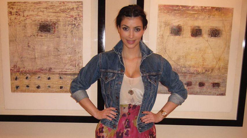 Kim Kardashian zu Beginn ihrer Karriere