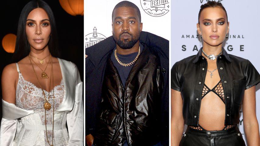 """Kim K. über Flirt von Ex Kanye und Irina: """"Passt gut zu ihm"""""""