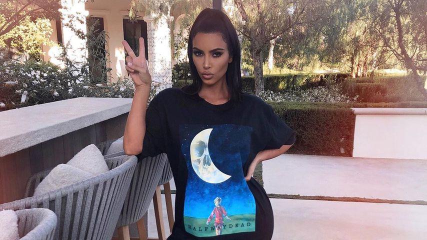 Kim Kardashian im August 2019