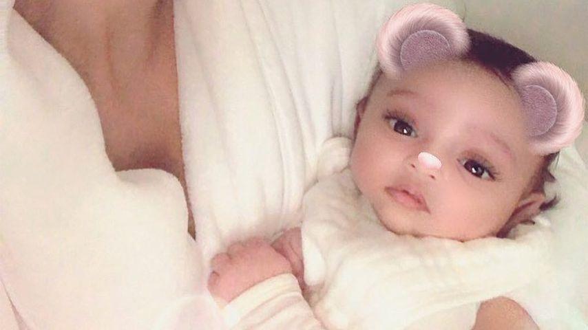 Endlich: Erstes Instagram-Selfie von Kim K und Baby Chicago!