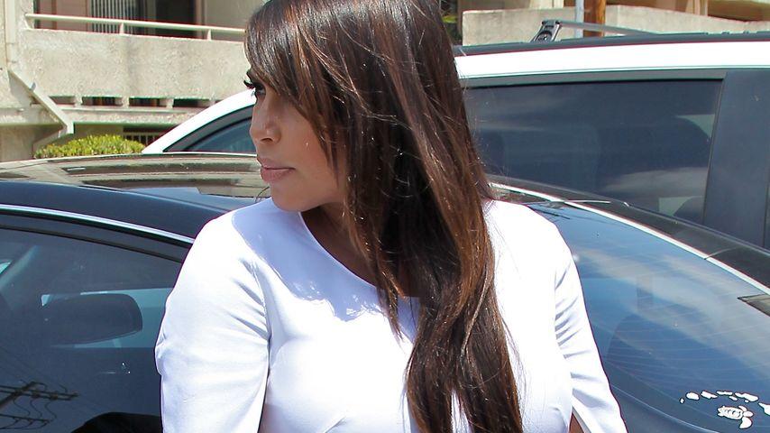 Kim Kardashian: Verzweifelt über dicken Baby-Bauch