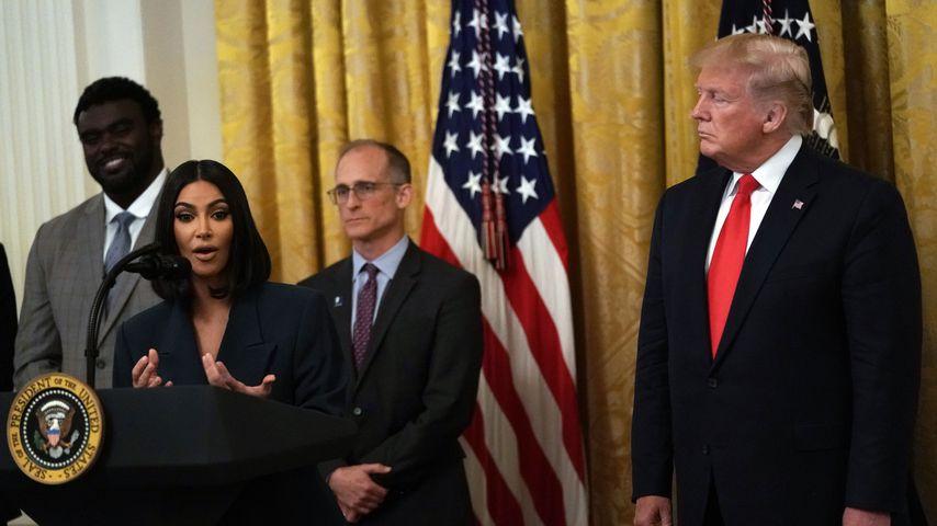 Kim Kardashian und Donald Trump